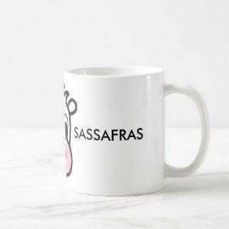 Café del sasafrás de la frambuesa/taza del té taza de café