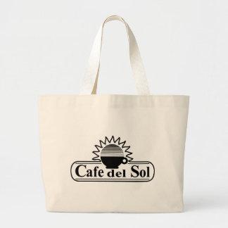 Cafe del Sol de Scranton, PA Bolsa Tela Grande