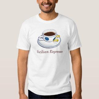 Café express siciliano camisas