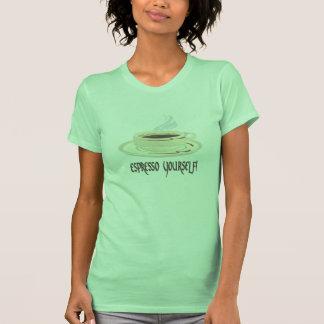 ¡Café express usted mismo! Camiseta