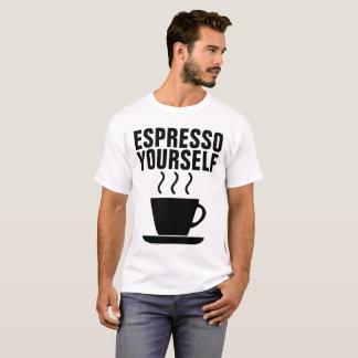 CAFÉ EXPRESS USTED MISMO, camisetas divertidas del