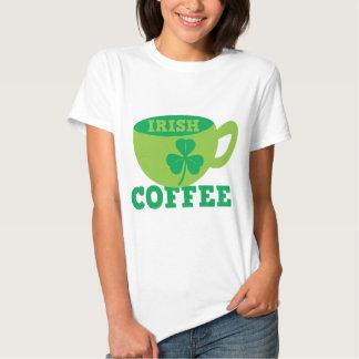Café irlandés camisetas