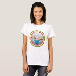 Café…  ¡La creación! Camiseta