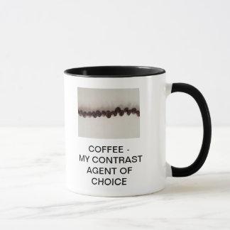 CAFÉ - MI AGENTE DEL CONTRASTE DE LA OPCIÓN TAZA