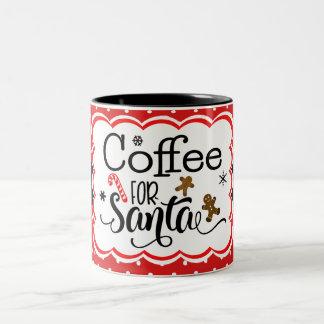 Café para la taza de Santa