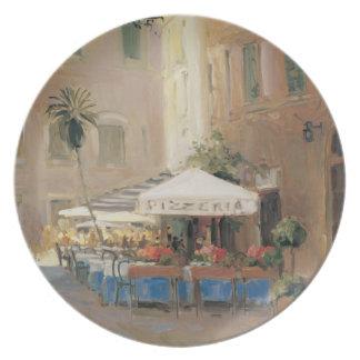 Café Roma Plato De Cena
