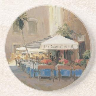 Café Roma Posavasos De Arenisca