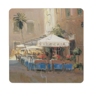 Café Roma Posavasos De Puzzle