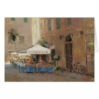 Café Roma Tarjeta De Felicitación