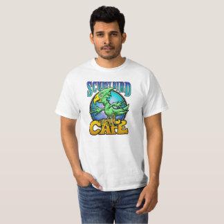 Café Scurvy del pájaro Camiseta
