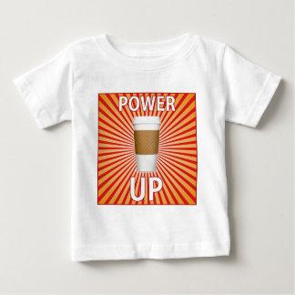 ¡Café - su superpoder! Camiseta Para Bebé