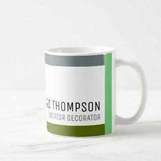 café-taza profesional de la decoración con la taza de café
