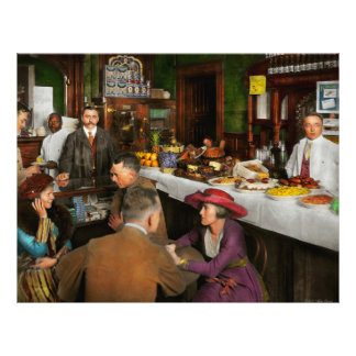 Café - tentaciones 1915 flyer