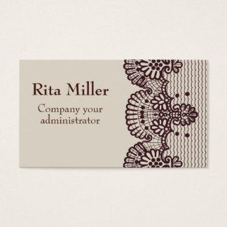 café y amor tarjeta de visita