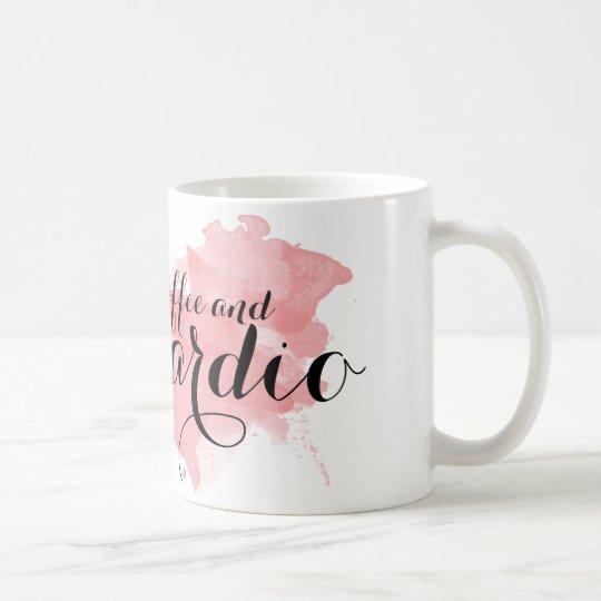 Café y taza cardiia