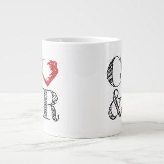 Café y taza grande de la revolución