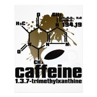 Cafeína Folleto 21,6 X 28 Cm