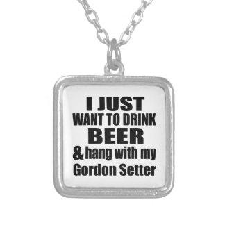 Caída con mi organismo de Gordon Collar Plateado