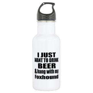 Caída con mi raposero botella de agua