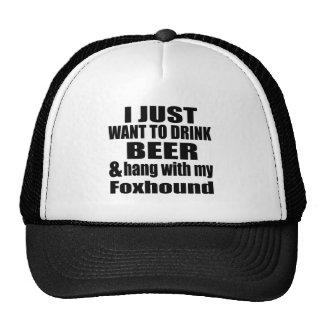 Caída con mi raposero gorras de camionero
