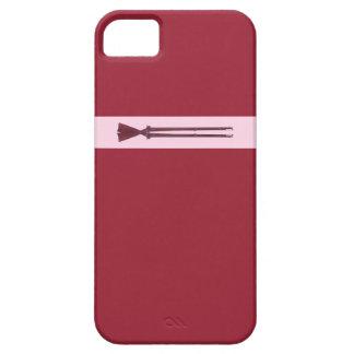 Caída de dos mosquetes en amor iPhone 5 Case-Mate carcasa