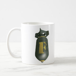 Caída de la bomba de F Taza De Café