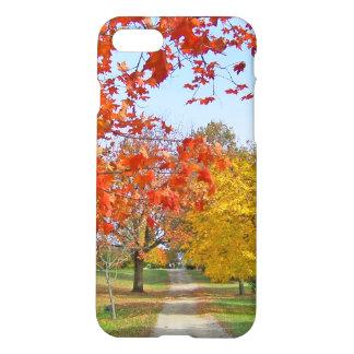 Caída de las hojas de otoño funda para iPhone 7