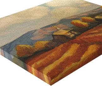 Caída en Tierra Amarilla, New México Impresión En Lienzo