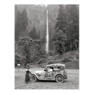 Caídas 1918 - postal de Multnomah del vintage de