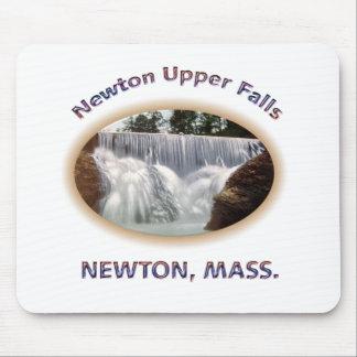 Caídas de la parte superior de Newton Tapete De Raton