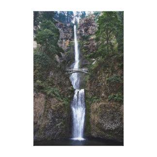 Caídas de Multnomah, Oregon Lienzo