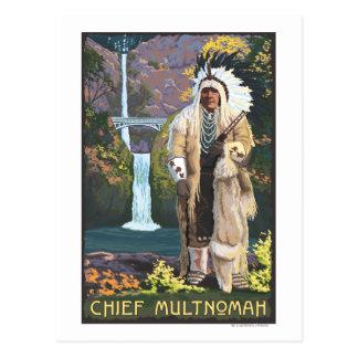 Caídas de Multnomah, OregonChief Multnomah Postal