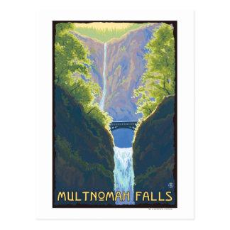 Caídas de Multnomah, OregonMaiden de las caídas Postal