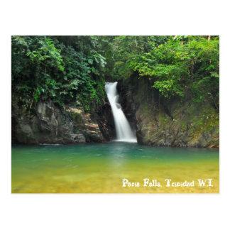 Caídas de Paria, Trinidad W.I. Postal