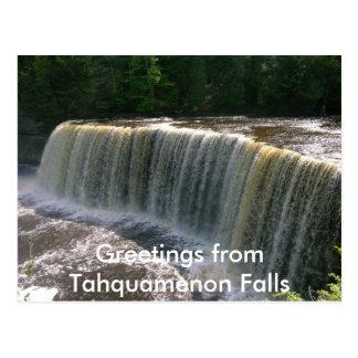 Caídas de Tahquamenon Postal