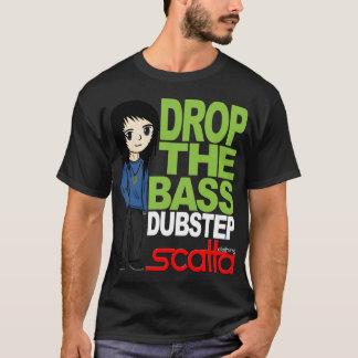 Caiga la camiseta baja de Dubstep