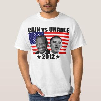 CAÍN contra 2012 INCAPAZ Camisetas