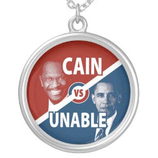 Caín contra el collar incapaz 2012 de Herman Caín