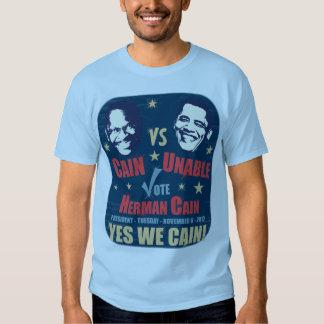 Caín contra incapaz - voto Herman Caín Camisas