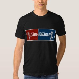 CAÍN contra la camiseta INCAPAZ de Herman Caín