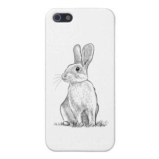 Caja 5/5s del teléfono del conejo iPhone 5 cárcasas