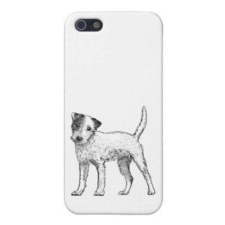 Caja 5/5s Jack Russell/párrocos Terrier del iPhone 5 Cárcasa