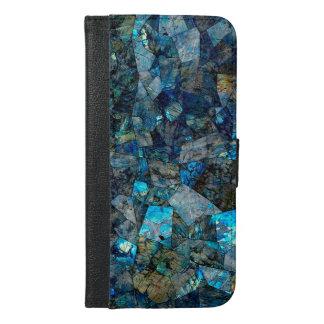 Caja abstracta de la cartera del folio del mosaico
