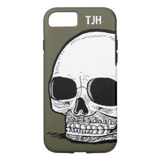 Caja adaptable del teléfono del cráneo funda iPhone 7