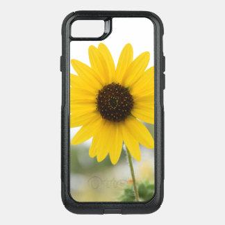 Caja amarilla y blanca linda del teléfono - diseño funda commuter de OtterBox para iPhone 8/7