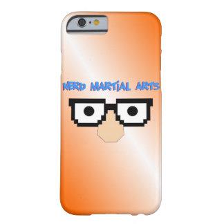 Caja anaranjada del teléfono de los artes funda para iPhone 6 barely there