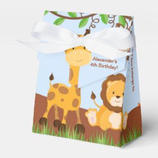 Caja animal del favor de la tienda del muchacho de cajas para regalos