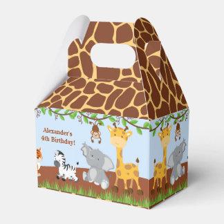 Caja animal del favor del aguilón del muchacho de caja para regalos