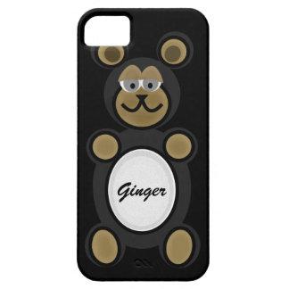 Caja animal del teléfono de la diversión iPhone 5 funda