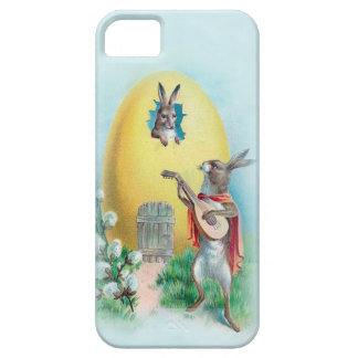 Caja antropomorfa de los conejos iPhone5 del iPhone 5 Case-Mate Protectores
